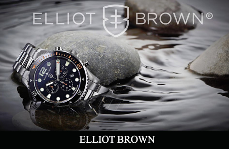 Elliot brown watch collection