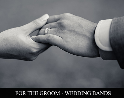 For the groom - wedding bands