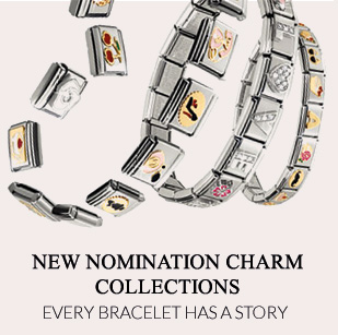 New nomination charm bracelet collections