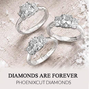 Phoenixcut Diamond Rings