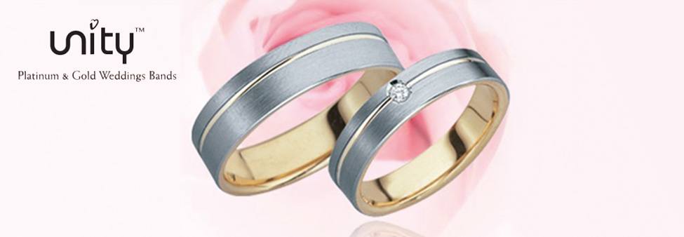 Unity wedding bands
